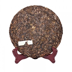 raw pu'erh tea cake